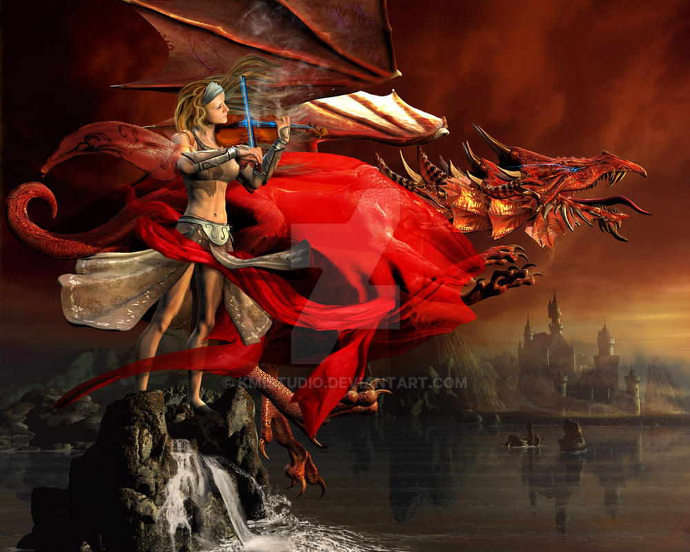 The Red Dragon Symphony by KMIStudio