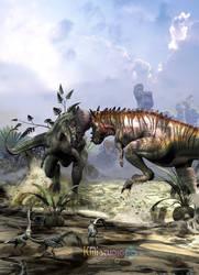 Pachycephalosaurus by KMIStudio