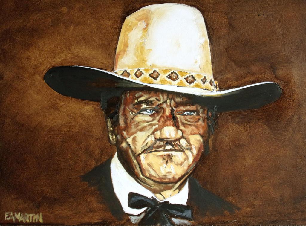 John Wayne The Shootist by Edwrd984