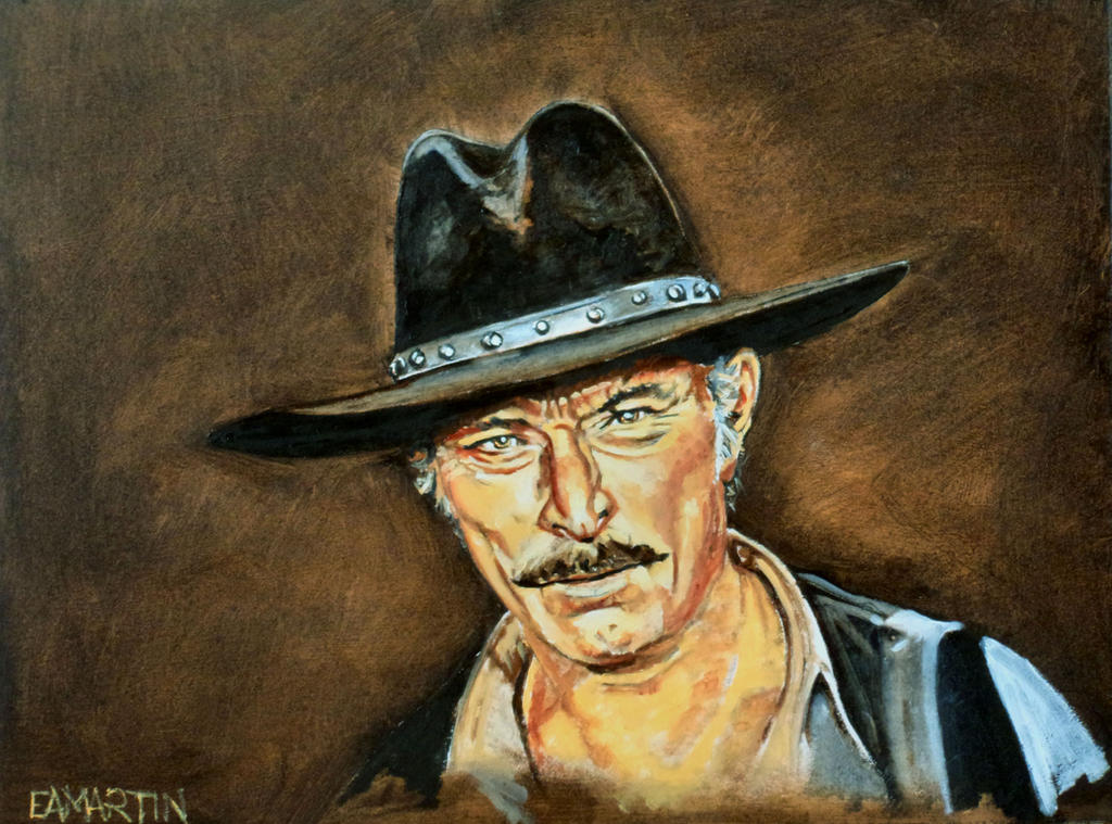 Lee Van Cleef by Edwrd984