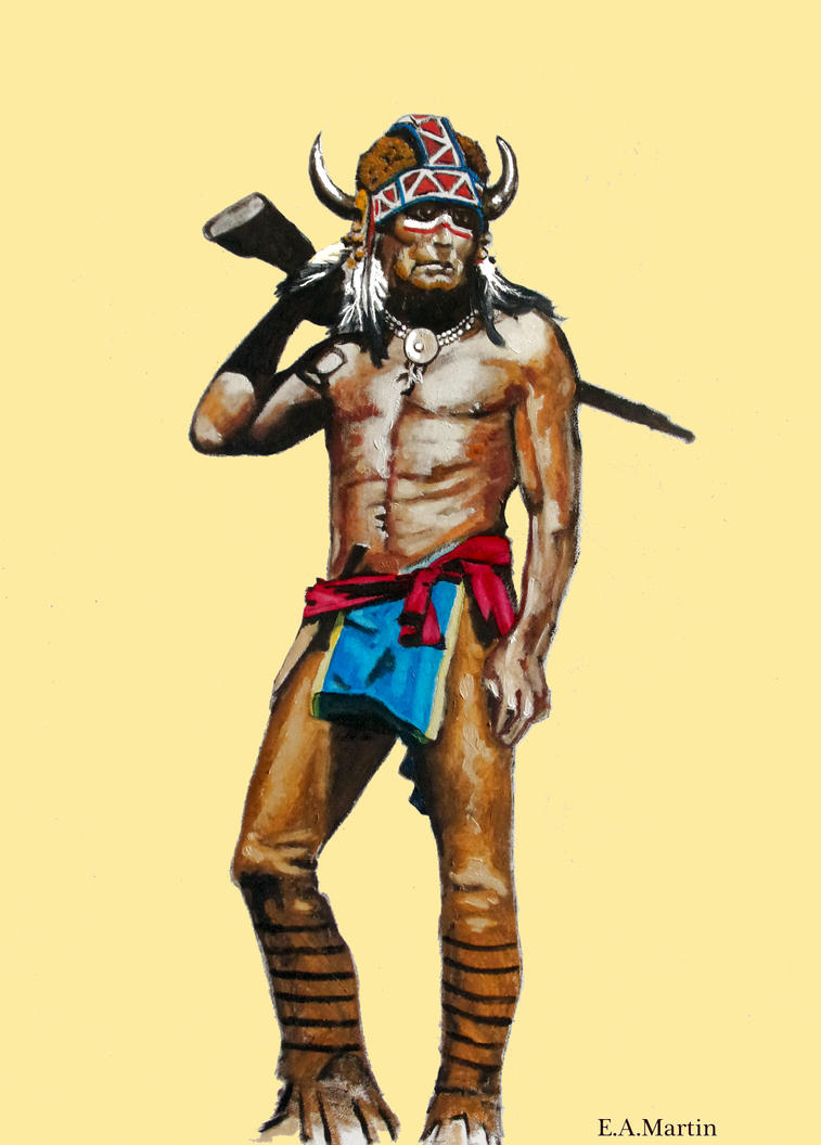 Lakota with a Long Tom by Edwrd984