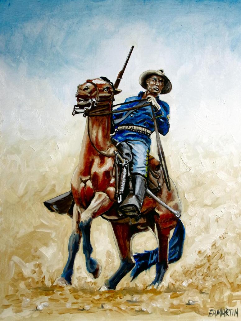 Buffalo Soldier by Edwrd984