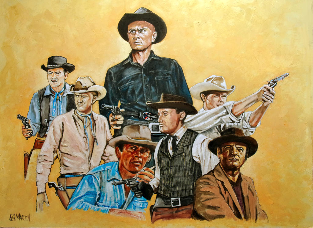 The Magnificent Seven by Edwrd984
