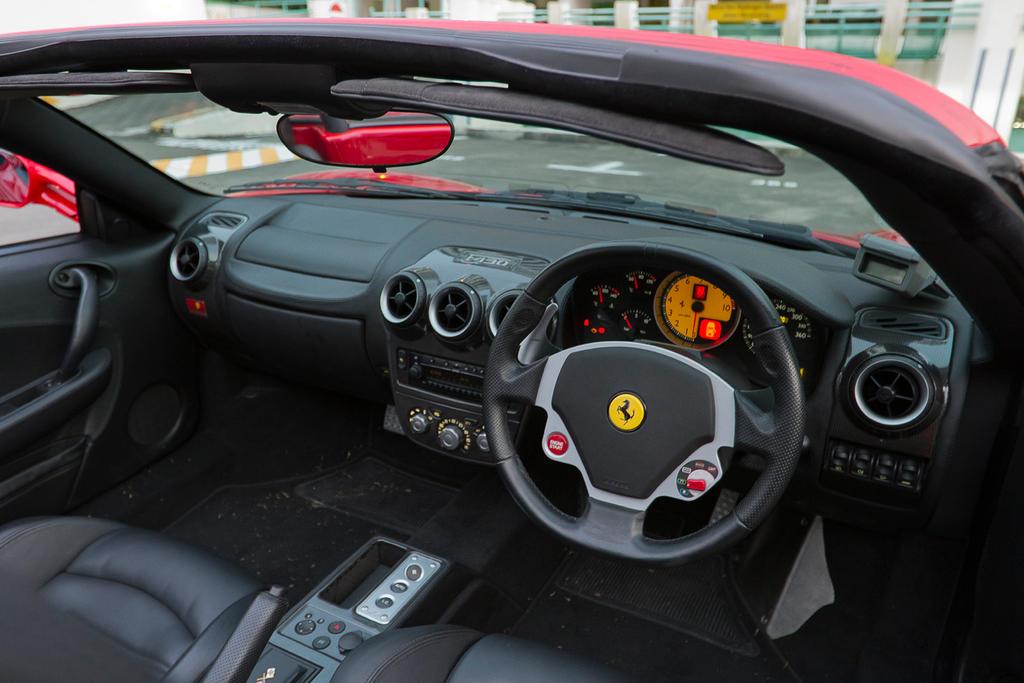 Ferrari F430 Spider Interior By Shironranshiin On Deviantart