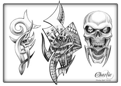 Tattoo Flash Pictures on Tattoo Flash Art 3 By  Gettattoo On Deviantart
