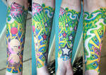 Full sleeve in colors