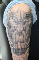 viking full sleeve project 2 by gettattoo