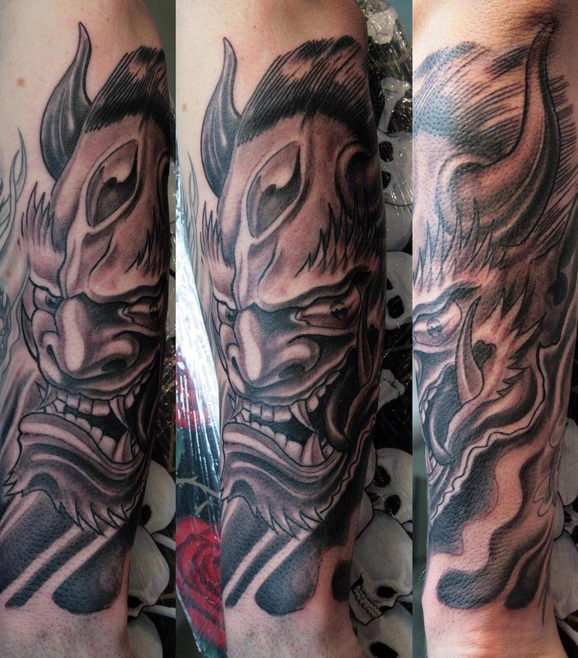 Japanese Demon 1 by gettattoo