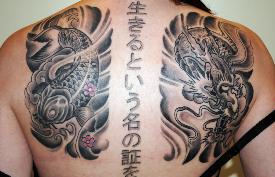 Japanese back piece