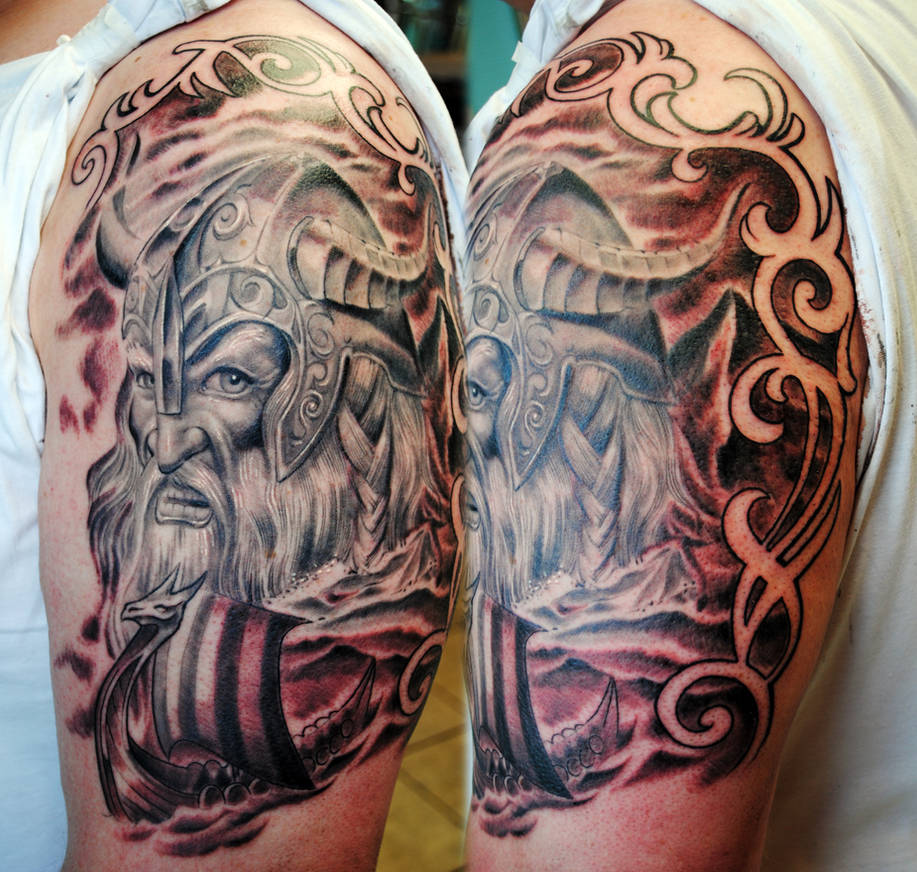 Viking Half Sleeve 2 By Gettattoo On Deviantart