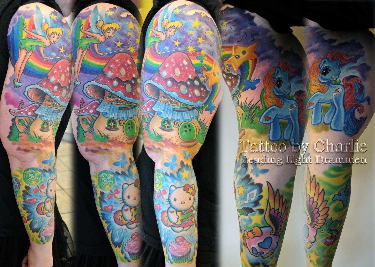 wallpaper tattoo colourful - photo #39