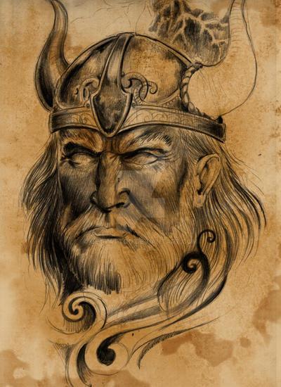 old viking tattoo design by gettattoo on deviantart. Black Bedroom Furniture Sets. Home Design Ideas