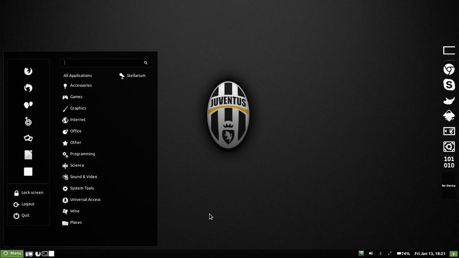 my ubuntu desktop by ferycomplicated