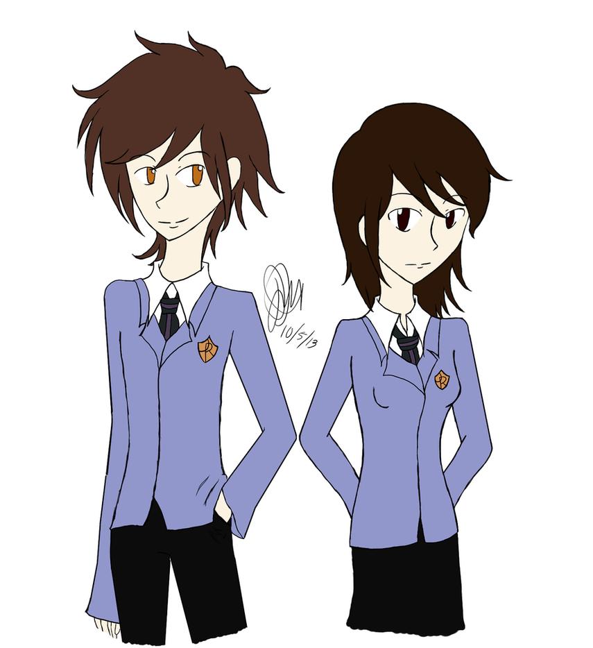 Meiko and Daisuke by khfan12