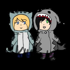 Dorks in Animal Hoodies