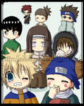 Naruto Boys - Chibi