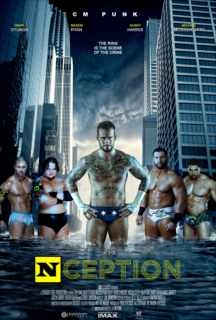 Nception movie poster by Photopops