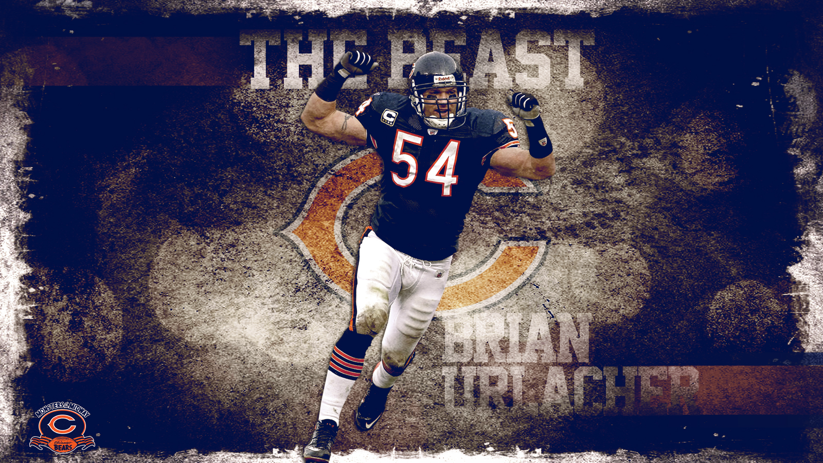 The Beast Brian Urlacher by Photopops on DeviantArt