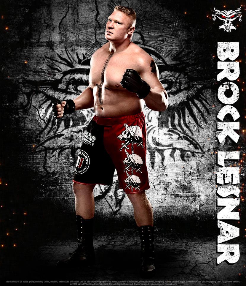Brock Lesnar Poster By Photopops