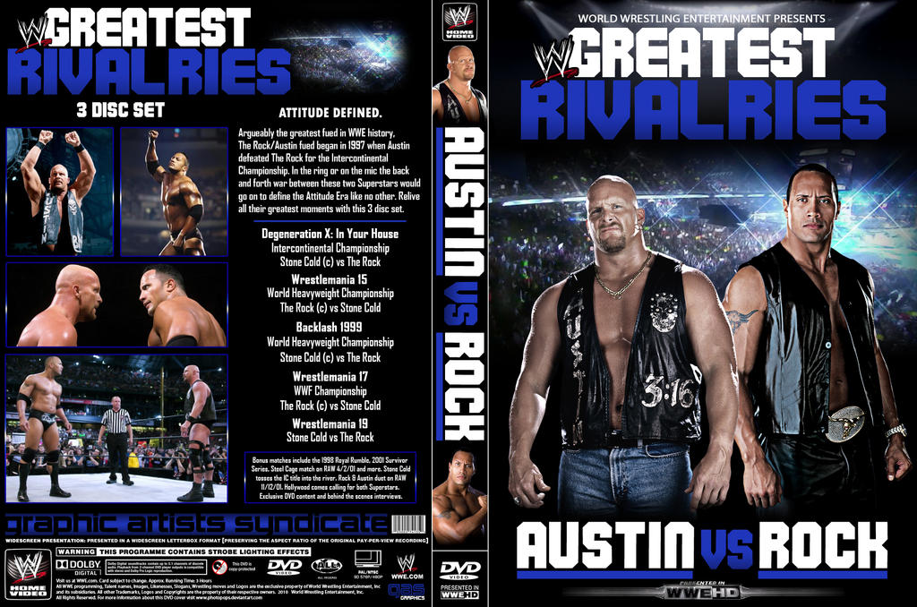 Greatest Rivalries: Austin vs Rock (printable) by Photopops