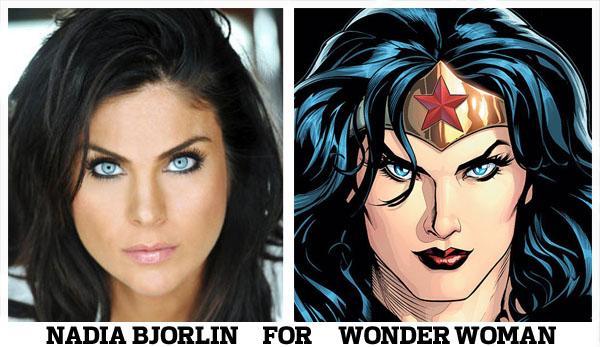 Nadia bjorlin wonder woman