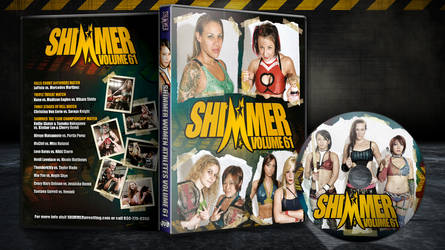 Shimmer 61 cover and disc by Photopops