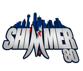 SHIMMER 80 Dallas logo by Photopops