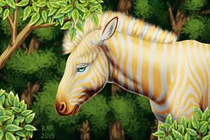 Golden Zebra 2 by 3Beccaboo