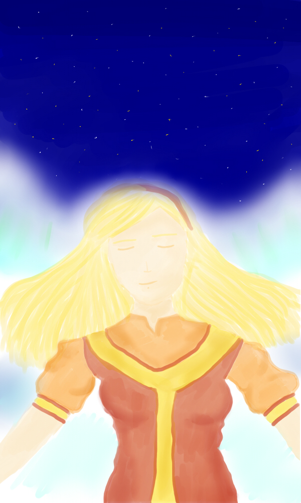 Starborn Prophetess by Elmida