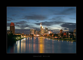 Frankfurt Skyline by Dr007