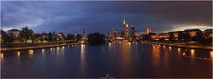 Frankfurt panorama by Dr007