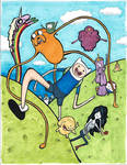 Adventure Time Happy Time in Ooo
