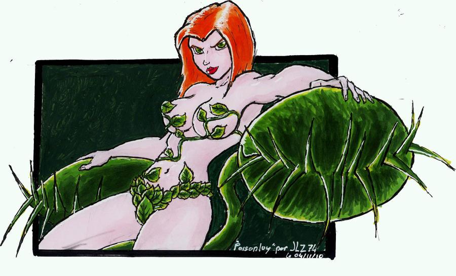 poison ivy clr by JohannLacrosaz