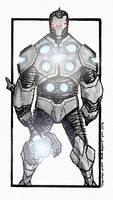 Iron Man Armor Mark Asgard by JohannLacrosaz