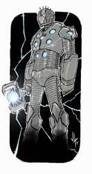 Ironman Mark Asgard Buster 3 by JohannLacrosaz