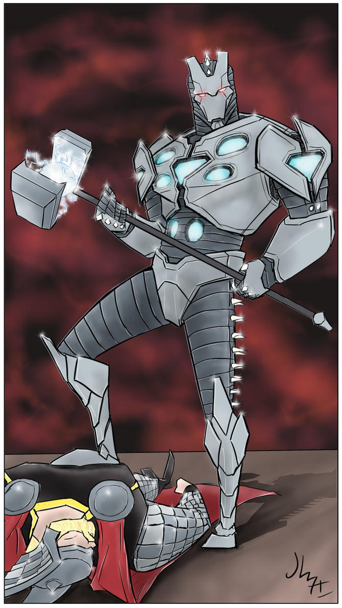 Iron Man Mark Asgardbuster 5 by JohannLacrosaz on DeviantArt  Iron Man Mark A...