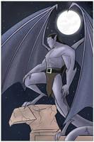 Gargoyles Goliath by JohannLacrosaz
