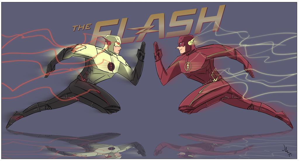 reverse flash vs professor - photo #20