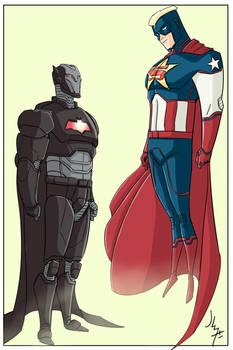 Iron Bat vs Super Captain