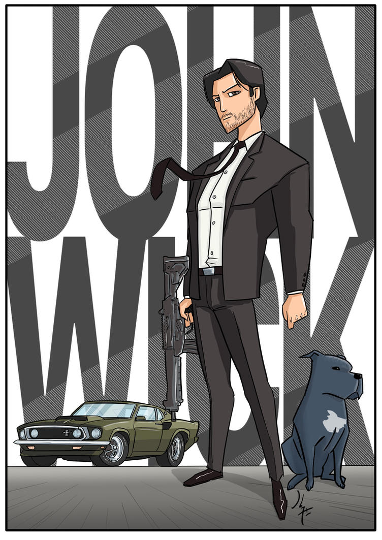 John Wick by JohannLacrosaz