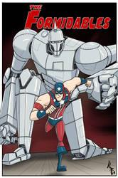 Steel Patriot And Robot 20171205