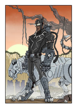 Black Panther steampunk