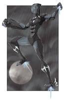 Shuri Iron Black Panther by JohannLacrosaz