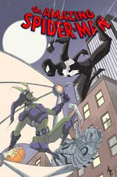 Spiderman vs Green Goblin