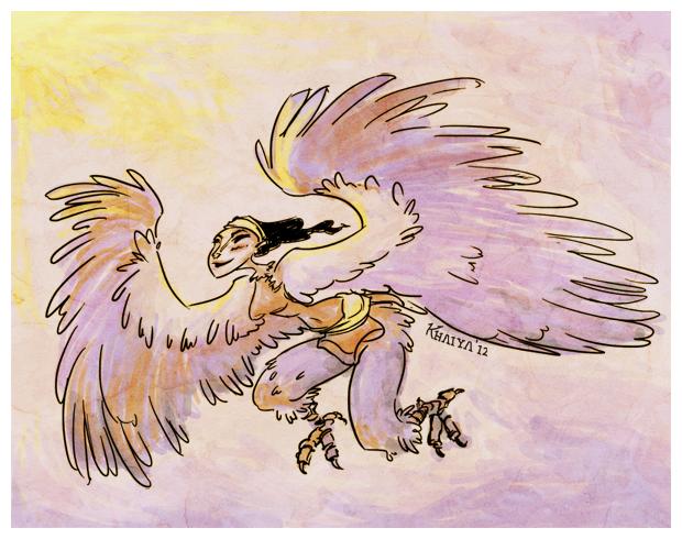 Day 1: Harpy by Khaiya
