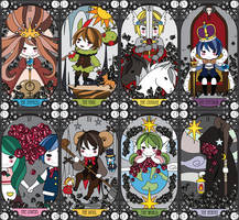 Tarot Project by c-ong
