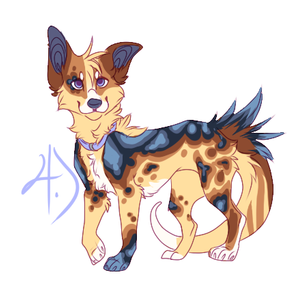 Canine Character Adopt ! OPEN [Resell] by Adopteryx