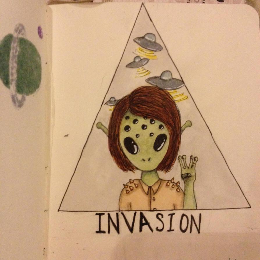 Invasion (inktober 2014) by ecoemmy
