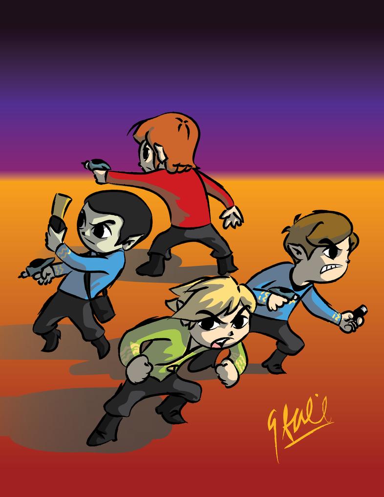 Legend of Trek by GrantWilson