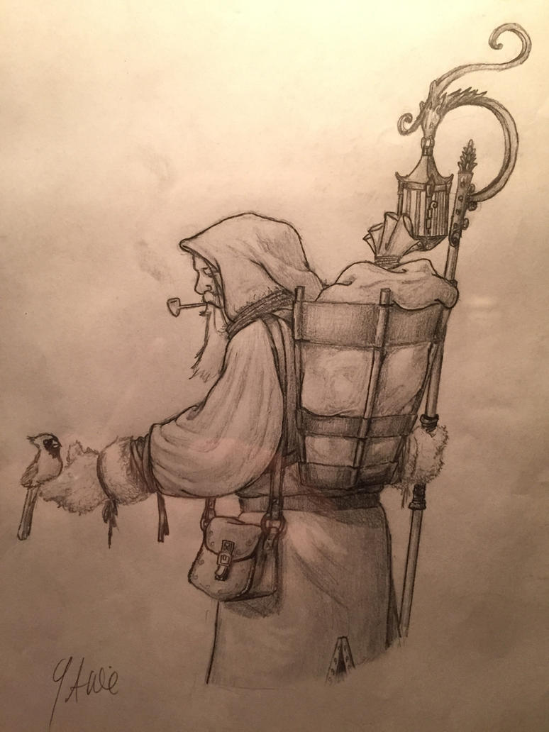 Old World Santa by GrantWilson